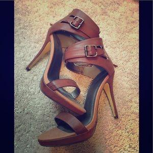 Camel heels.   Never worn!